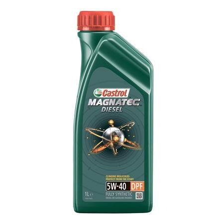 Castrol Magnatec Diesel 5W 40 Engine Oil DPF   1 Litre