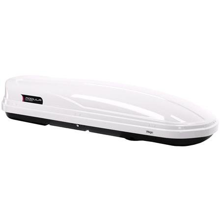 WEGO 500L White Roof Box, Double side opening