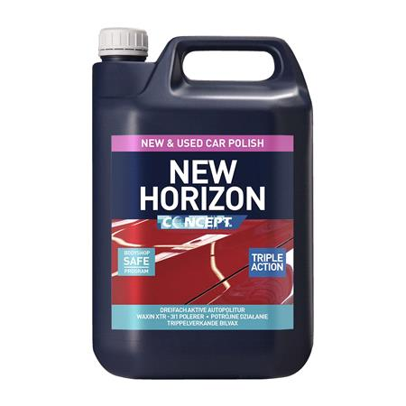 Concept New Horizon Wax Polish   5 Litre
