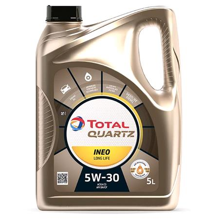 TOTAL Quartz INEO LONG LIFE 5W 30 ENGINE OIL 5 LITRE