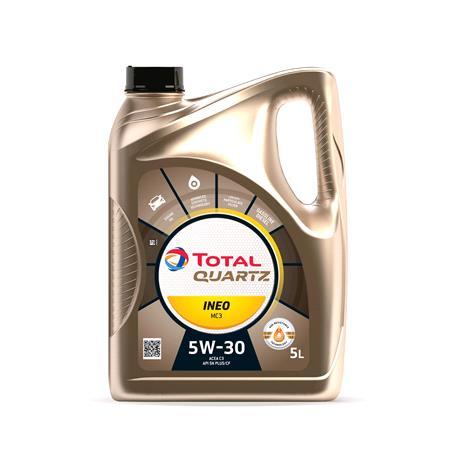 TOTAL Quartz INEO MC3 5W 30 ENGINE OIL 5 LITRE