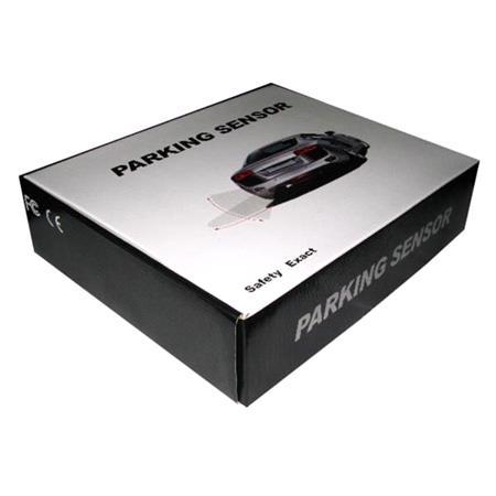 Rear Parking Sensor Kit   Black