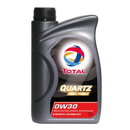 TOTAL Quartz INEO First 0W 30 Engine Oil   1 Litre