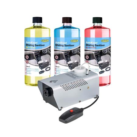 Ring Auto Expel Santising Mist Machine For Vehicles   Silver