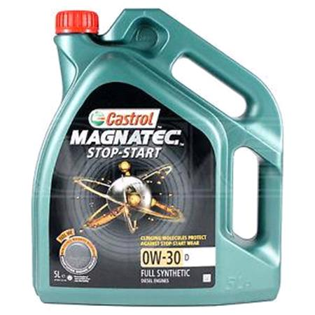 Castrol Magnatec 0W30 D Stop Start Fully Synthetic Engine Oil. 4 Litre