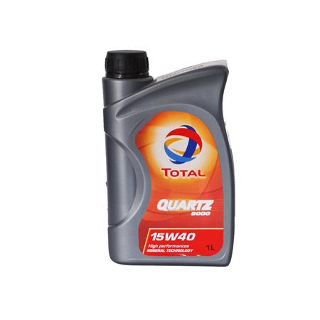 TOTAL Quartz 5000 15W 40 MuLTIGRADE ENGINE OIL 1 LITRE