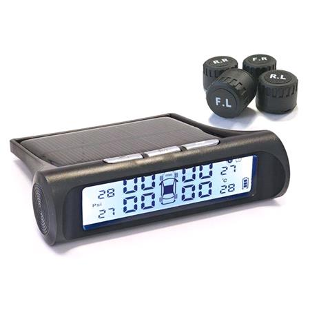 Tyre Pressure Monitoring System with Bluetooth