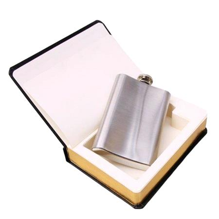 Hip Flask Concealed In A Good Book