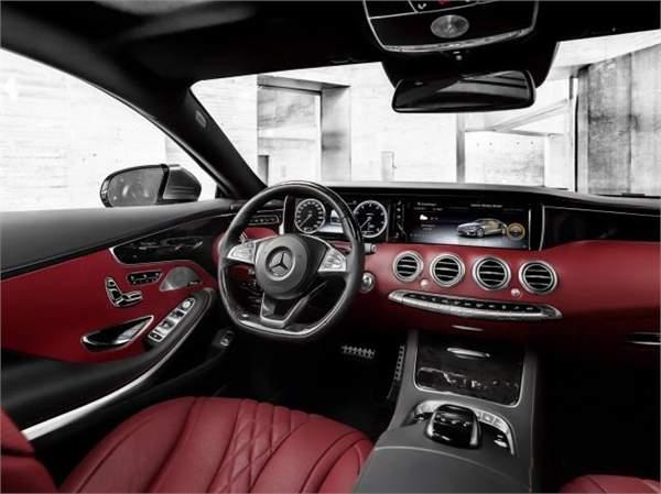 2015 Mercedes Benz S Class Interior