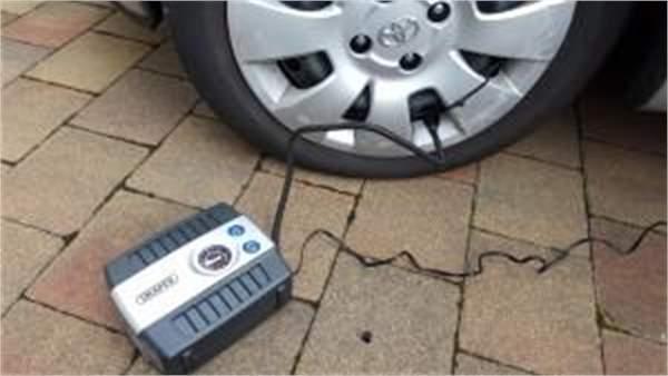 Draper Tyre Inflator