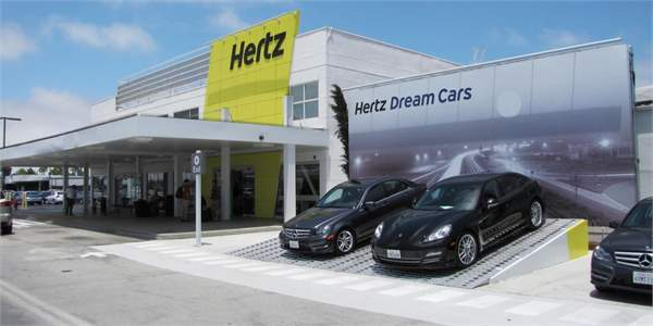 hiring a car abroad hertz