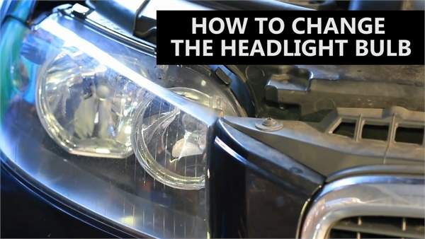 How to change a car bulb