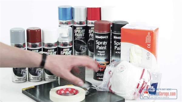 How To Spray Paint With Aerosols | MicksGarage