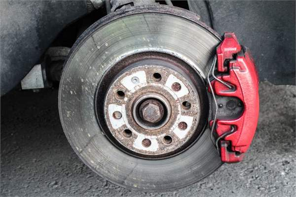 brake disc - standard golf gti
