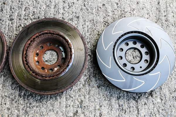 Important Track Day Modifications new vs old discs