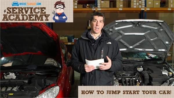 MicksGarage Service Academy: How To Jump Start Your Car
