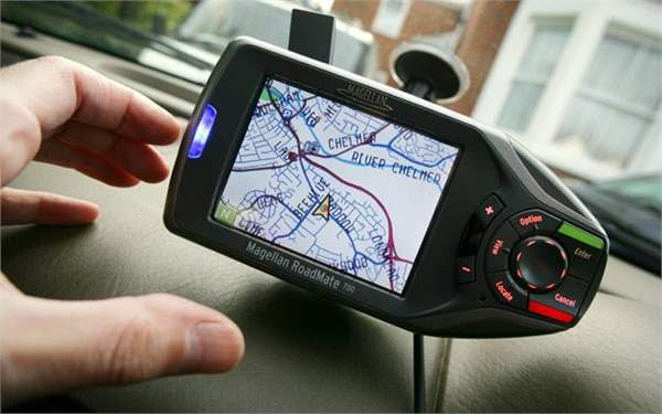 driving in france - sat nav