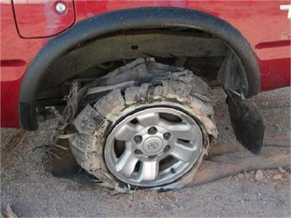 Controlling Your Car During a Tyre Blowout