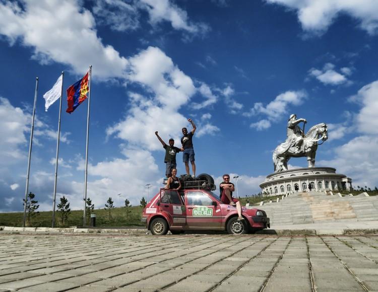 Mongol Rally 2015