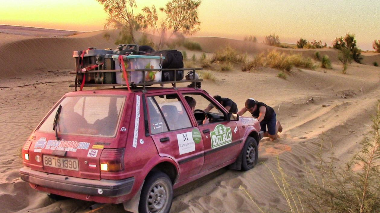 Mongol Rally: The Journey So Far