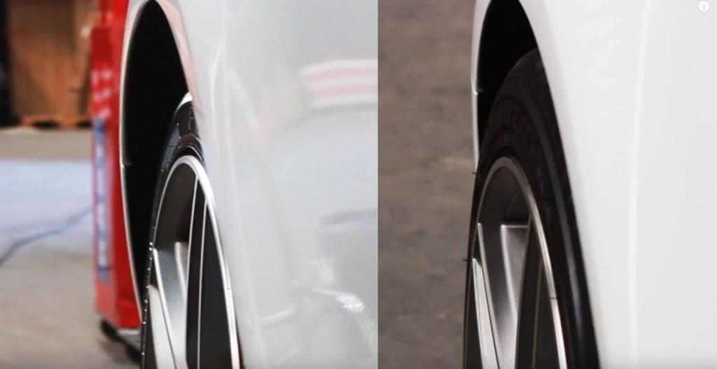 How to Fit Hub-Centric Wheel Spacers before and after