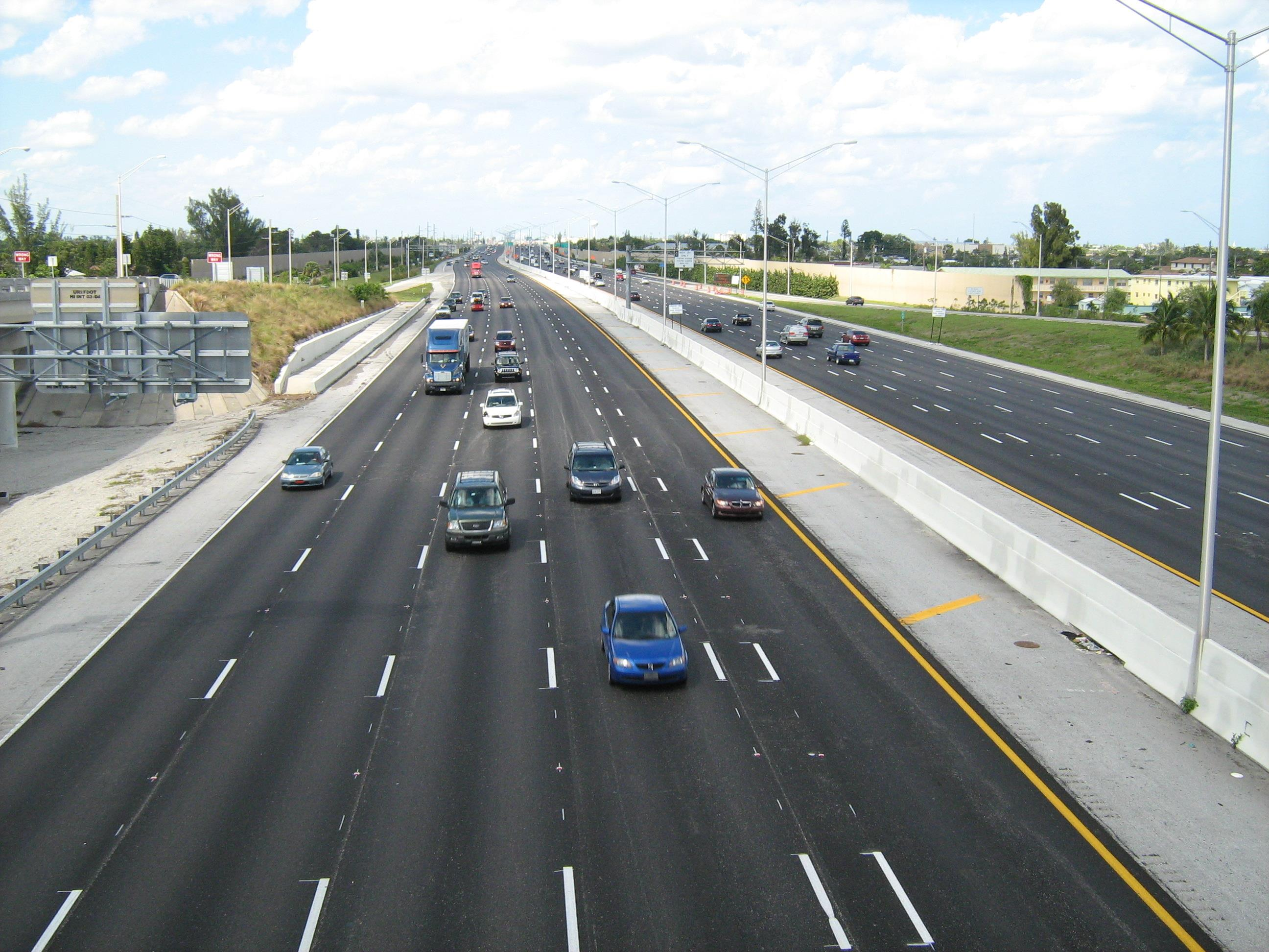 Florida_I-95_from_Lantana_Road_overpass