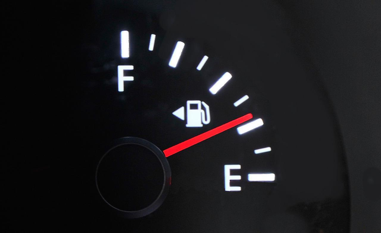 fuel gauge large