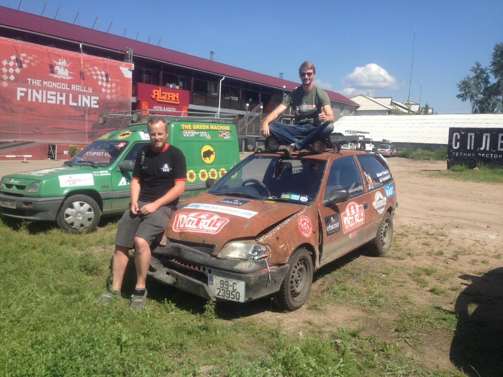 Mad Macs On The Mongol Rally: The Final Leg