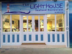 Light House Seafood Restaurant in Wicklow