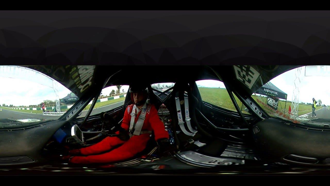 MicksGarage 360° On-Board Drift Video