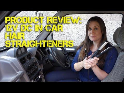 Product Review: 12V In-car Hair Straighteners With Ceramic Plates