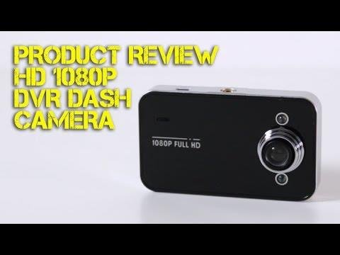 Product Review: HD 1080p DVR Dash Camera
