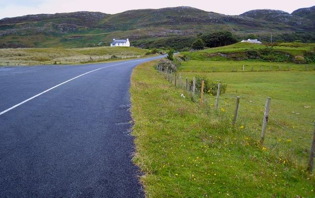 Ireland's best driving roads: R268 Rd south of Port Salon towards Rathmullen