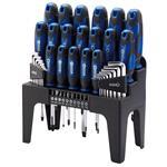 Draper 78616 Screwdriver, Hex Key and Bit Set (Blue) (44 Piece)