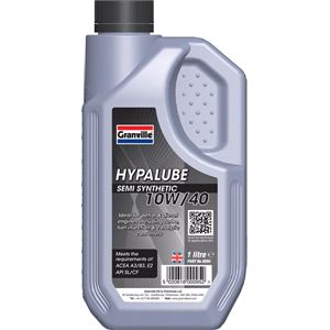 Engine Oils and Lubricants, *CLEARANCE* Hypalube 10W40 Semi Synthetic -1 Litre, Granville