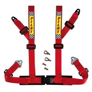 Safety Harnesses and Accessories, Sport safety belt - E2 - Red, Pilot