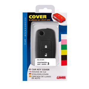 Car Key Covers, Car Key Cover - Seat, Skoda, Volkswagen (Key type 3), Lampa