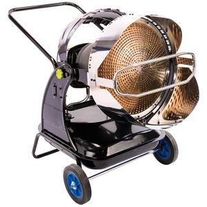 Diesel, Kerosene and Paraffin Heaters, Draper 01774 Jet Force, Infra-Red Diesel Space Heater (124,000 BTU/34kW), Draper