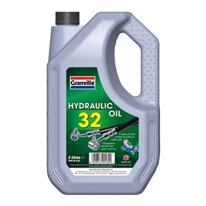 Engine Oils and Lubricants, *CLEARANCE* Hydraulic Oil 32 - 5 Litre, Granville