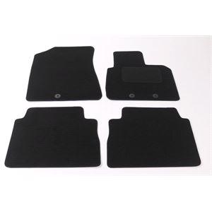 Fully Tailored Car Floor Mats Kia SORENTO 2012 2014, Black, 5 Seater Version