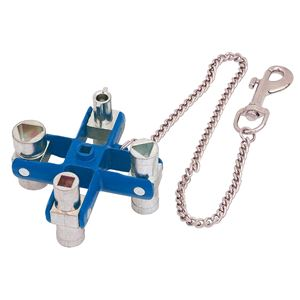 Radiator and Utility Keys, Draper Expert 03073 Master Utility Key, Draper