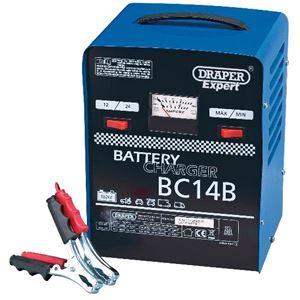 Battery Charger, Draper Expert 05597 12V-24V 12A Battery Charger, Draper
