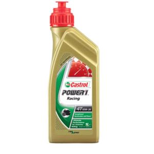Engine Oils and Lubricants, Power 1 Racing 4T - 4 Stroke - 10W-50 - Fully Synthetic - 1 Litre, Castrol
