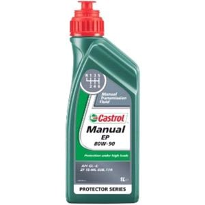 Engine Oils and Lubricants, Castrol Manual EP 80W90 1L, Castrol