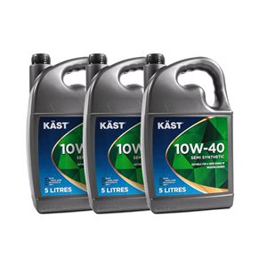 Engine Oils and Lubricants, KAST 10w40 Semi Synthetic A3 B4 Engine Oil. 15 Litre, KAST