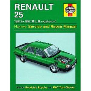 Haynes DIY Workshop Manuals, Renault 25 Haynes Manual,  Petrol and Diesel (84 - 92), Haynes