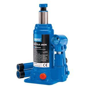 Bottle Jacks, Draper 13064 2 Tonne Hydraulic Bottle Jack, Draper