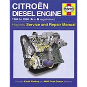 Haynes DIY Workshop Manuals, Haynes Manual, Citroën 1.7 and 1.9 litre Diesel Engine (84 - 96), Haynes