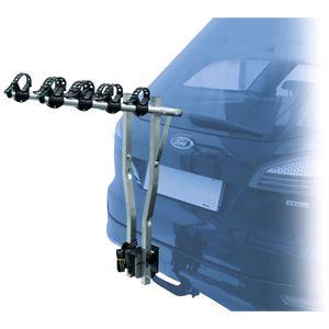 Towbar mounted 4 bike rack for Mahindra XUV 500 2012 Onwards
