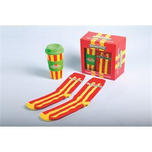 Gifts, Drumstick Mug and Socks Gift Set, Fizz Creations